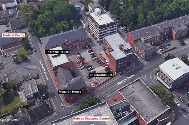 Image of Development Site @ George Street/Thornhill Street, Wakefield, West Yorkshire
